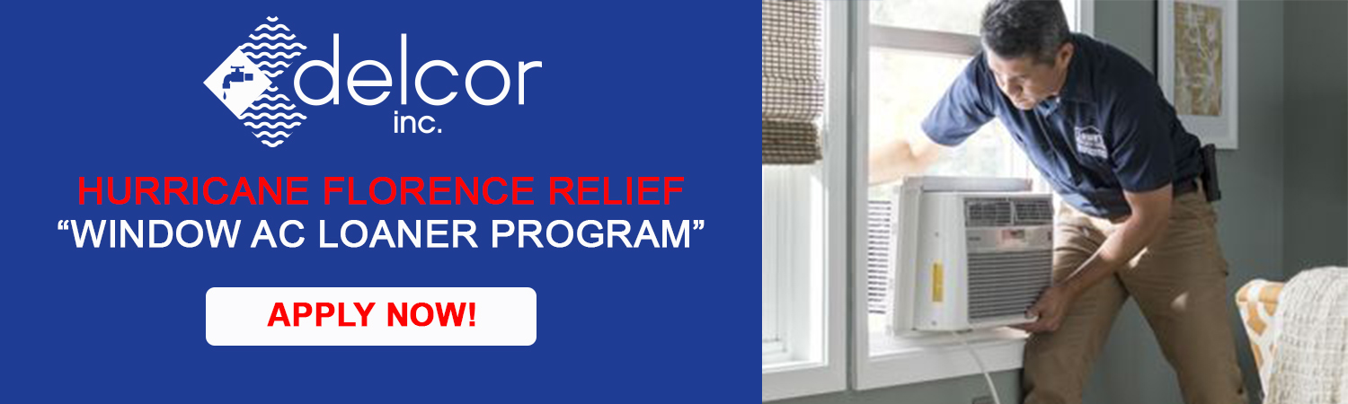 Delcor Banner Hurricane Florence Window Program